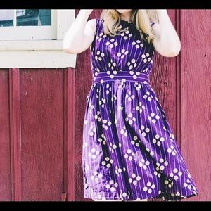 NWT Modcloth emilyandfin Size 1X Floral Lucy Dress